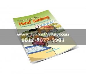 Buku Paud Menulis Huruf Sambung Semester 1